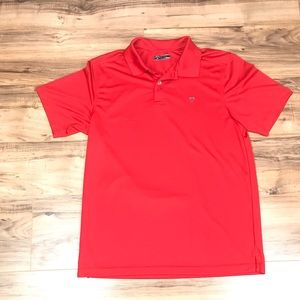 Callaway men's red golf polo shirt size large